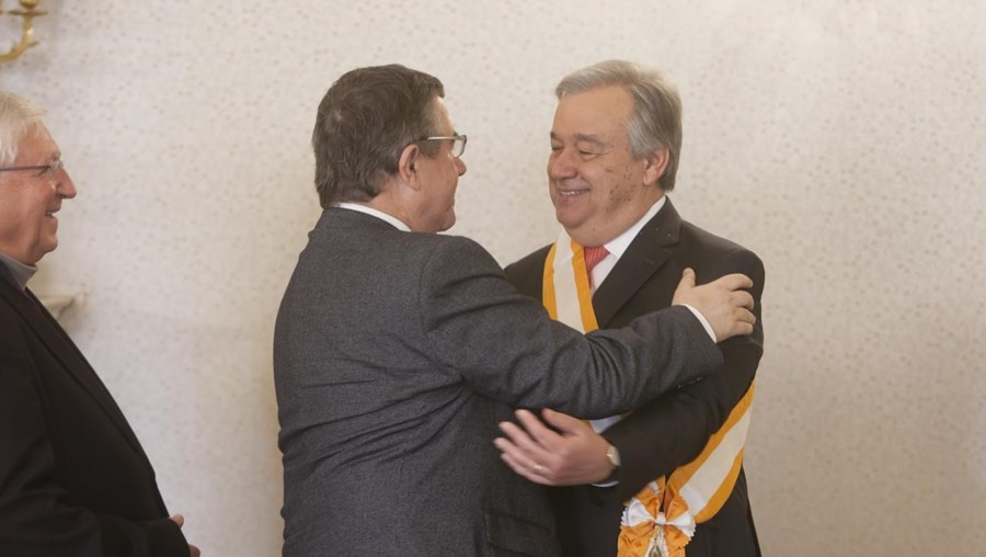 António Guterres e Jorge Coelho