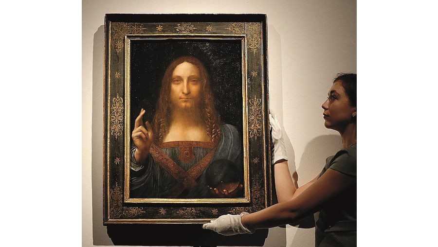 'Salvator Mundi', de da Vinci
