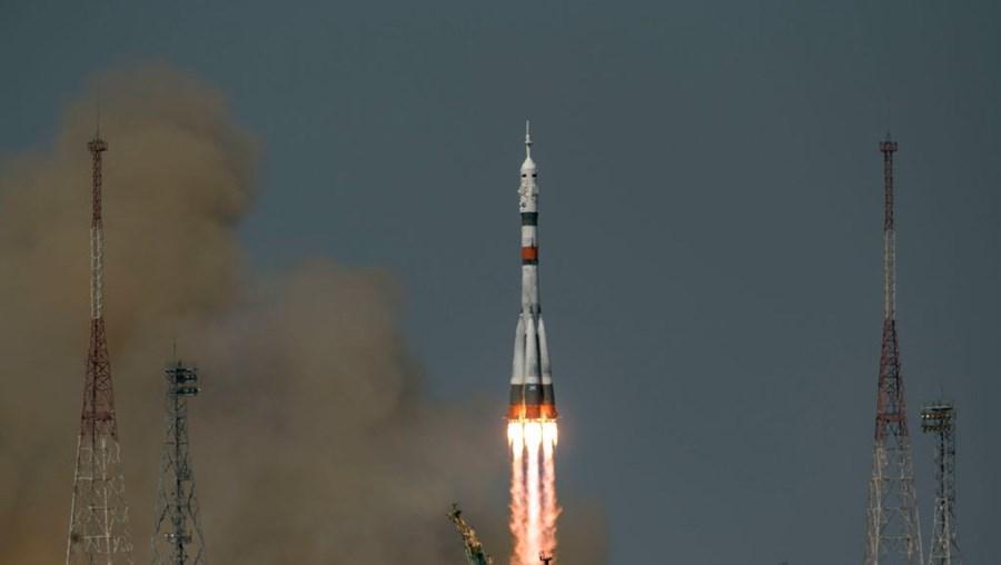Foguetão que homenageia Iuri Gagarin partiu do Cazaquistão