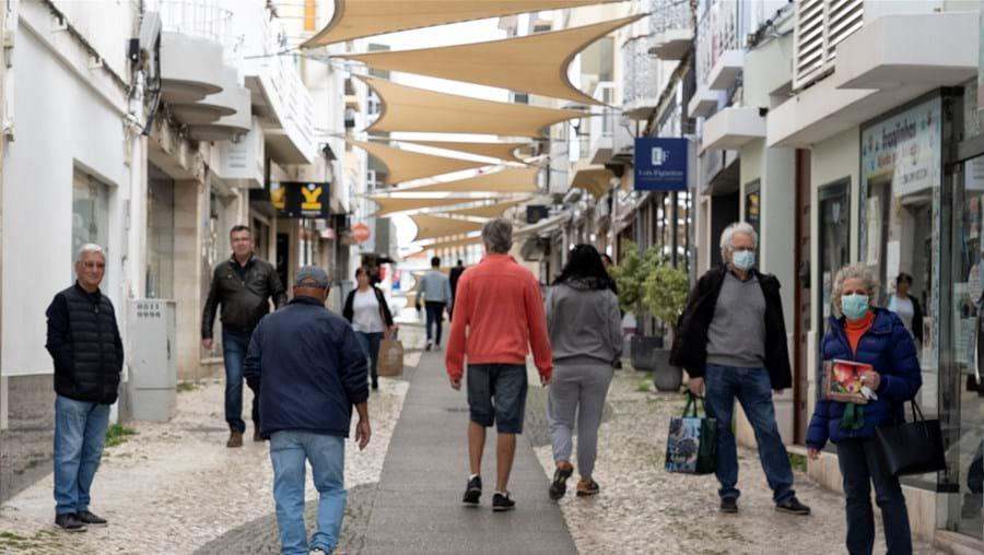 Portimão é um dos municípios em risco, por ter uma incidência superior a 120 casos por 100 mil: tem atualmente 317