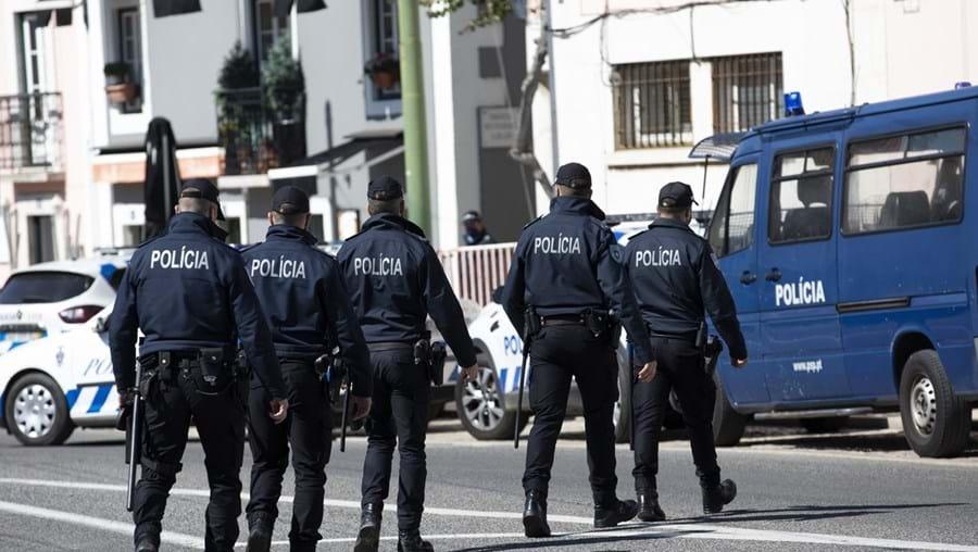 Agentes da PSP