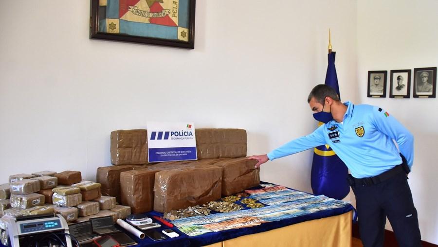 PSP apanha meio milhão de euros em droga em Santarém