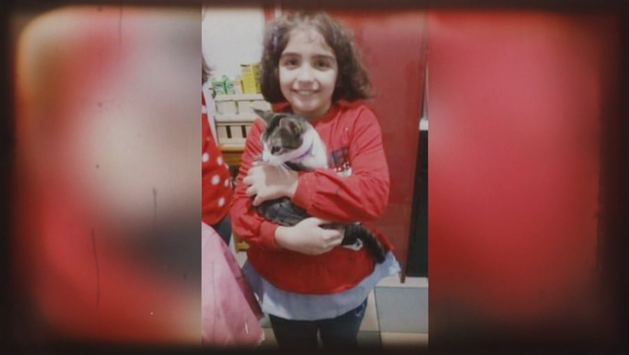Valentina foi morta aos nove anos