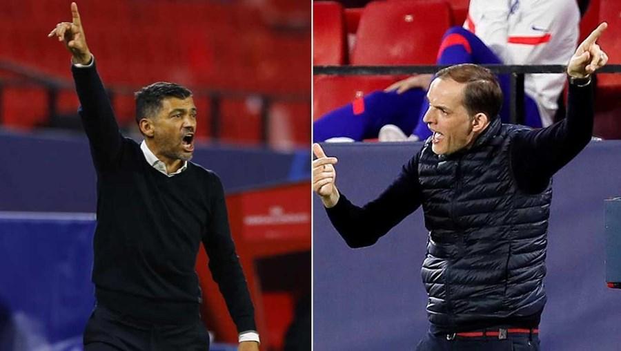 Houve troca de insultos entre treinadores