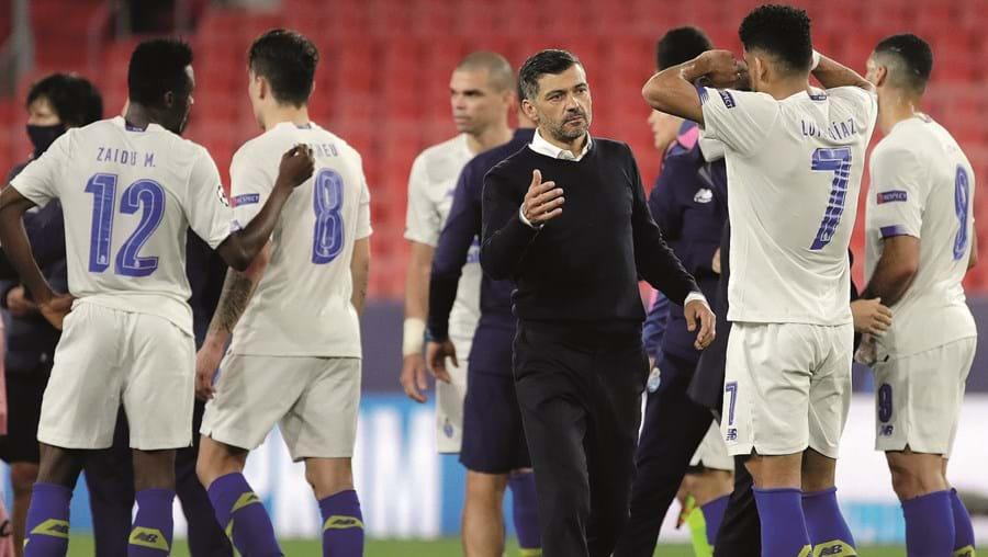 Sérgio Conceição aproveitou a boa campanha da Champions para dizer aos jogadores que não há impossíveis