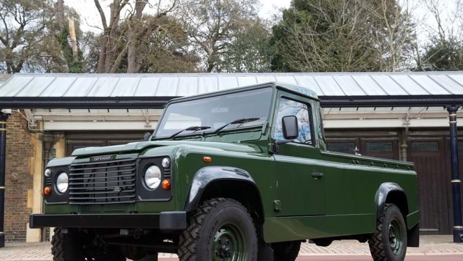 Land Rover personalizado pelo príncipe Filipe para transportar o seu caixão