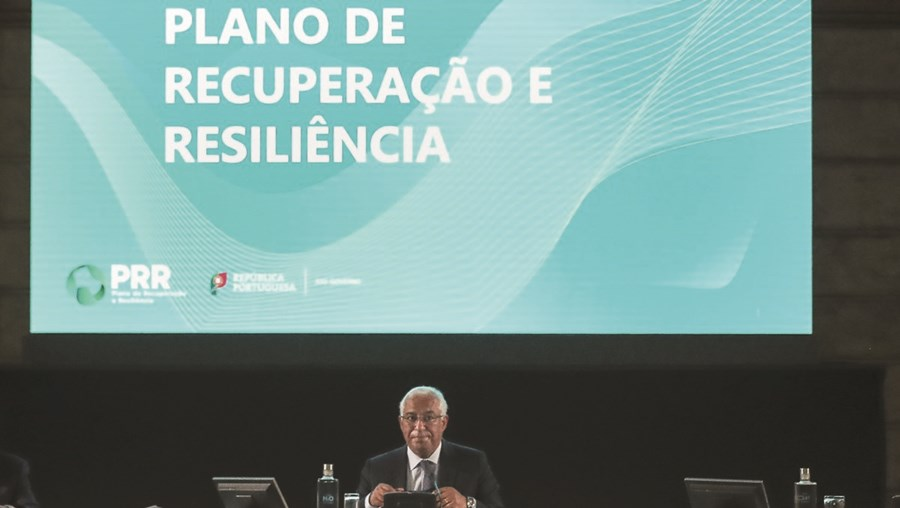 António Costa na apresentação do plano de Recuperação e resiliência