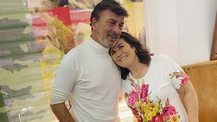 'O meu coração sangra só de te ver': Dolores Aveiro mostra encontro com Tony Carreira