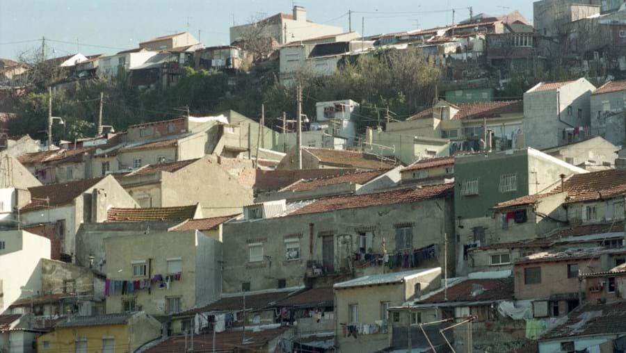 Fotos do bairro do Casal Ventoso, em Lisboa