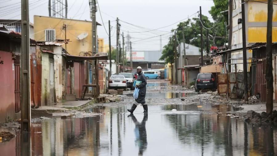Fortes chuvas em Luanda