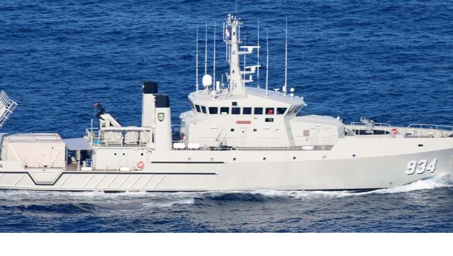 Navio do modelo OSV 190 MKII