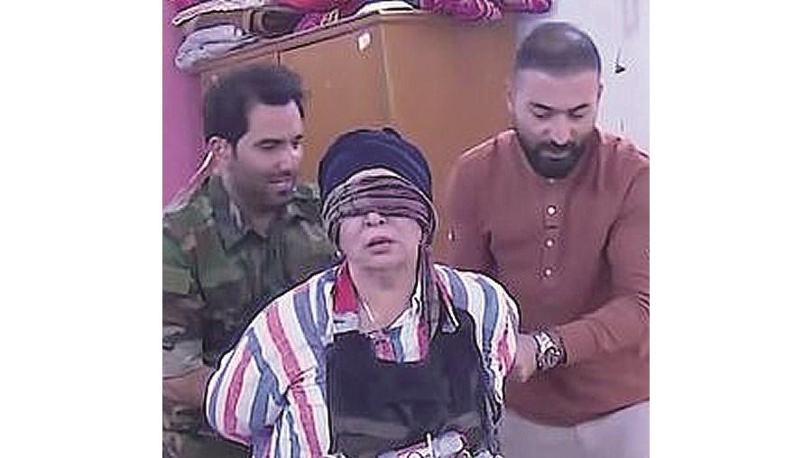 Celebridades iraquianas vivem momentos de terror... para os apanhados