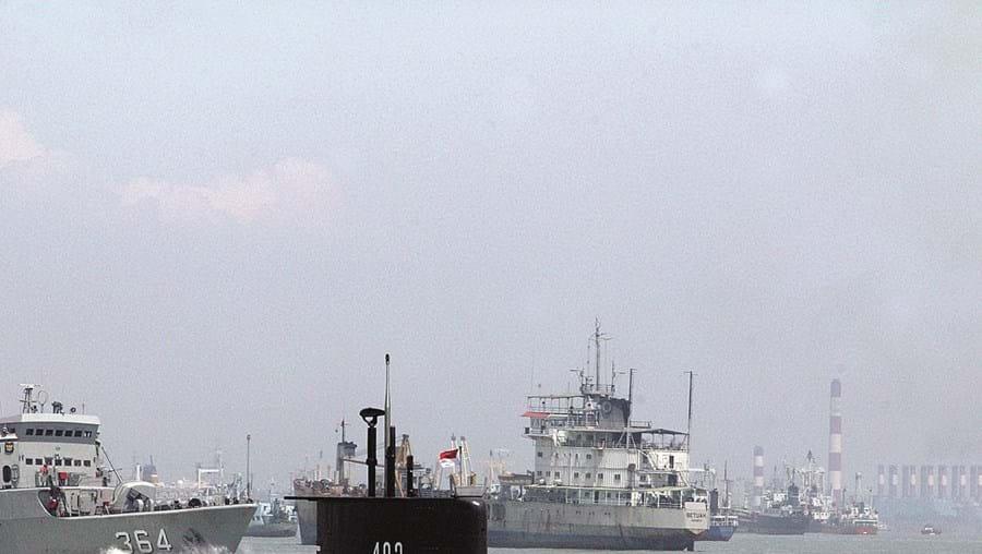 Submarino desapareceu durante um exercício com torpedos a norte de Bali