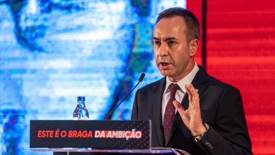 Presidente do Sp. Braga, António Salvador