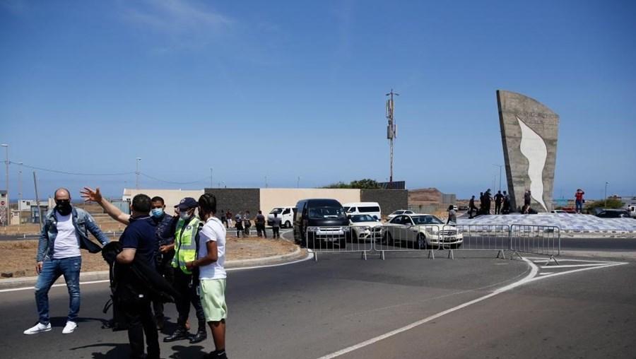 Aeroporto da Praia, em Cabo Verde