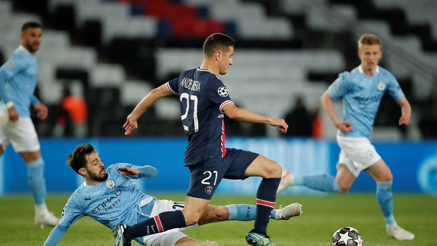 Manchester City 'vira' resultado frente ao Paris Saint-Germain