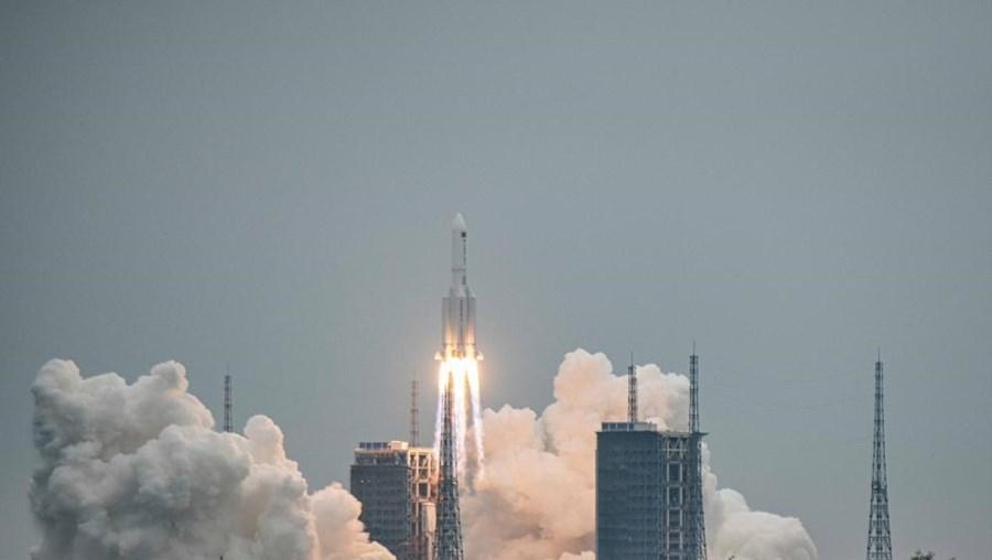 Módulo Tianhe lançado ao espaço
