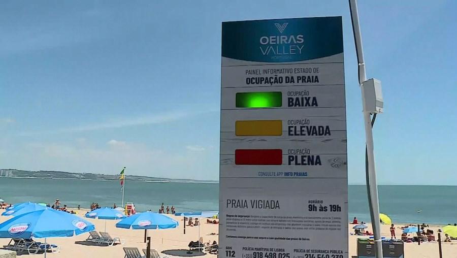 Regras nas praias serão mantidas no regresso da época balnear
