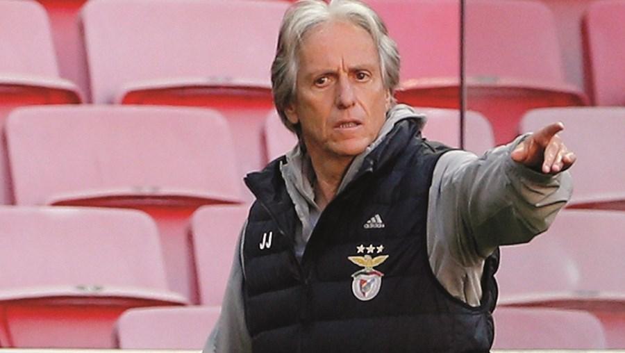 Jorge Jesus elogiou o Tondela, nomeadamente o trio atacante, formado por Murillo, González e Agra
