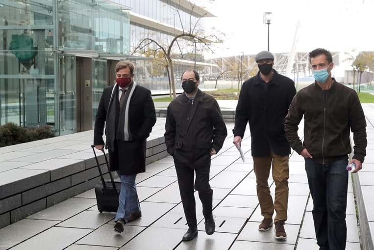 Duarte Laja e Bruno Sousa estão acusados de homicídio qualificado