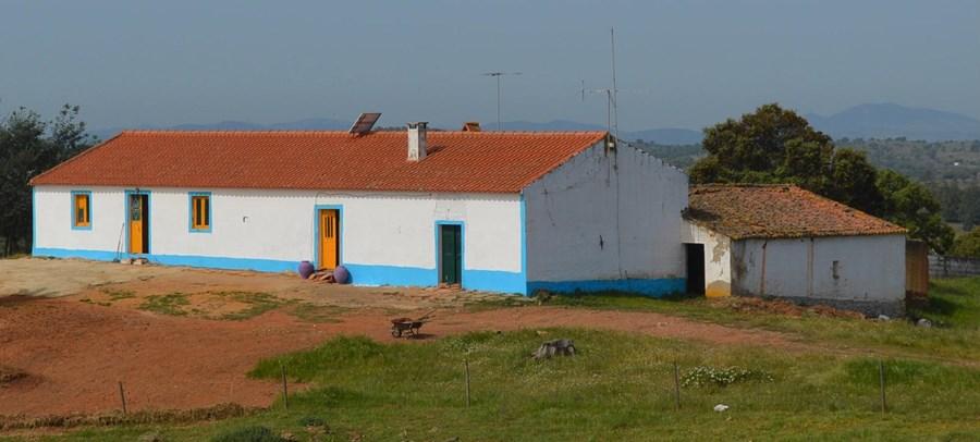 Monte em Mértola comprado por uma das vítimas do ex-comando e onde foi detido por inspetores da Polícia Judiciária
