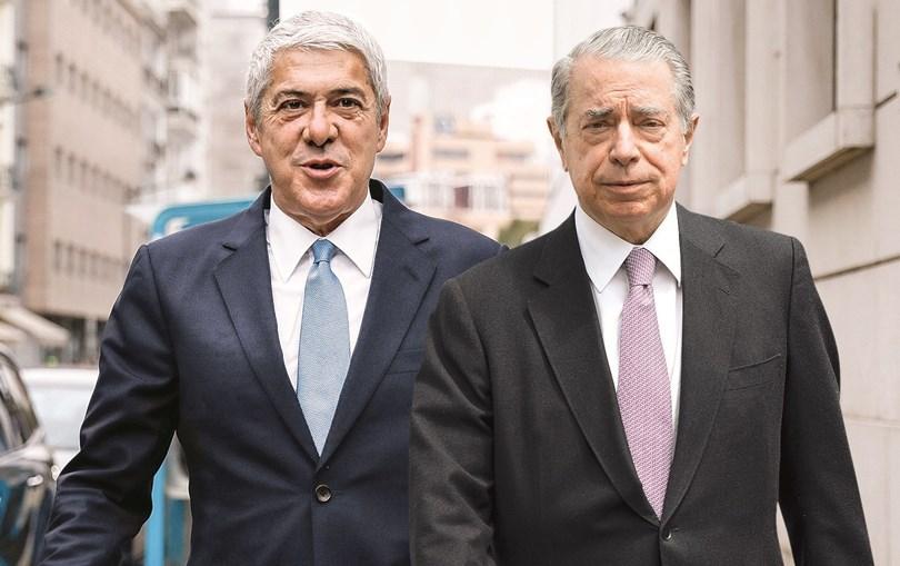 José Sócrates  é o principal arguido na Operação Marquês. Ricardo Salgado terá sido o seu principal agente corruptor