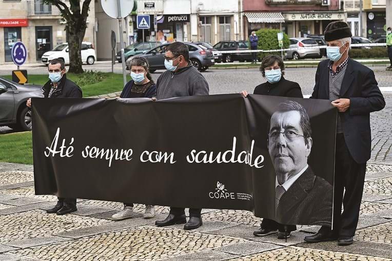 Agricultores prestam homenagem a Jorge Coelho em Mangalde
