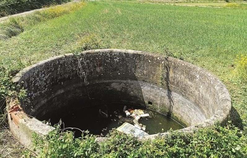 Cadáver foi localizado num poço agrícola, numa zona pouco movimentada e isolada