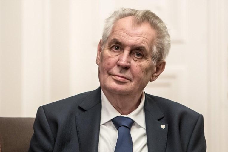 Miloš Zeman, presidente da República Checa