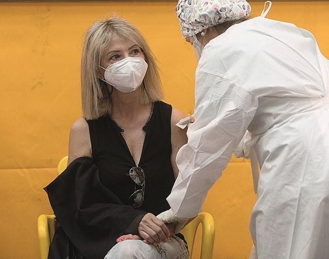 Vacinação contra Covid em Coimbra