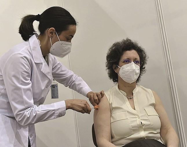 Vacinação contra Covid em Viseu
