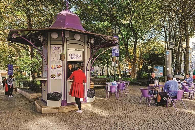 Praça das flores. O projeto urbanístico foi alvo de queixas