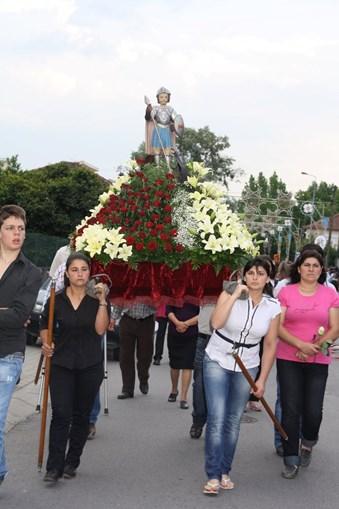 Festas religiosas adaptam-se na pandemia em Felgueiras
