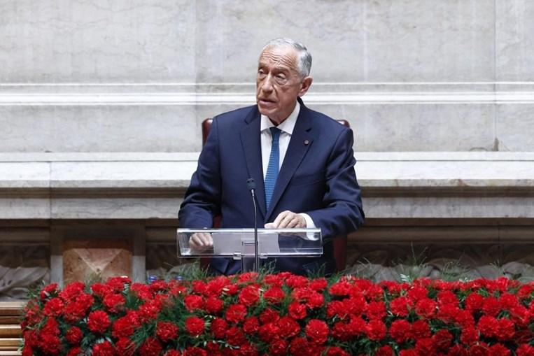 Marcelo Rebelo de Sousa nas comemorações do 25 de Abril no Parlamento