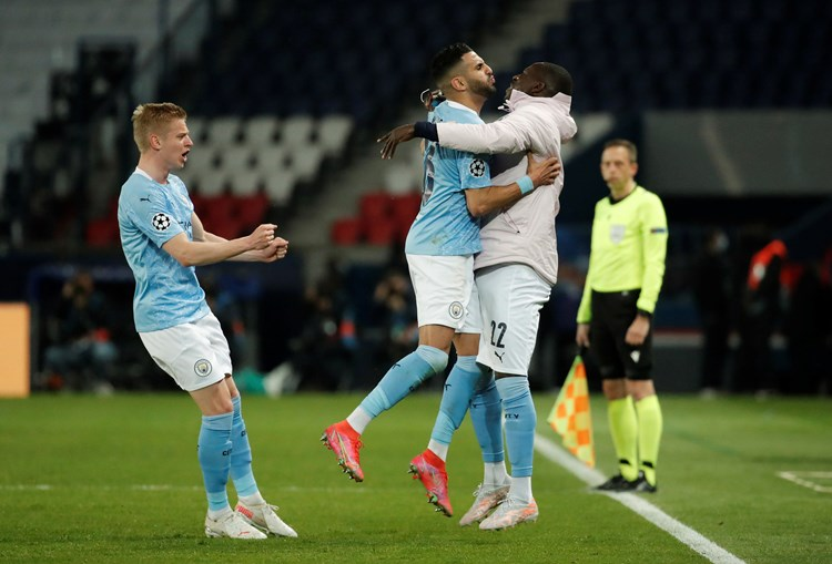 Manchester City 'vira' resultado frente ao Paris Saint-Germain