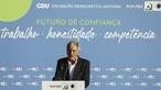 Jerónimo sugere a Costa que tenha 'mais tento' nas críticas aos autarcas do PCP