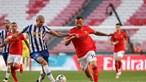 Benfica e FC Porto empatam em Clássico renhido na Luz