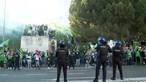 Festejos do Sporting no Marquês preocupam polícia