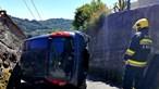 Mulher despista-se contra muro e fica em estado grave em Arcos de Valdevez