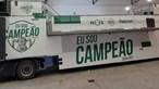 """""""Eu sou campeão"""": Autocarro do Sporting já está preparado para a festa do título"""