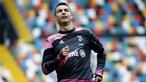 'Vaaamoossss': Cristiano Ronaldo a apoiar o Sporting desde Itália