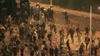 Polícia dispara para travar festa dos adeptos do Sporting nas imediações do Estádio de Alvalade