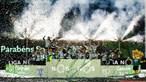 Dezenas saem à rua em Bragança e Mirandela para festejar título do Sporting