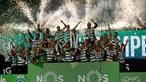 Sporting é campeão nacional após jejum de 19 anos