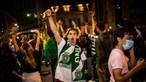 Risco de descontrolo epidemiológico com festejos do Sporting é baixo