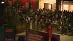 Violentos confrontos entre polícia e adeptos do Sporting provoca debandada no Marquês de Pombal