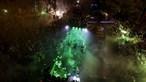 Noitada dos leões a celebrar título sem impacto no dérbi de sábado