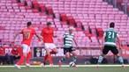 Nuno Santos reduz desvantagem ao fazer o segundo para os leões