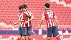 Atlético de Madrid de João Félix campeão espanhol pela 11.ª vez