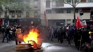 Confrontos com a polícia marcam manifestação do Dia do Trabalhador em Paris